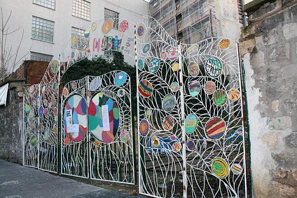 Portail jardin mobile sara renaud sara renaud super volum for Portail jardin pvc