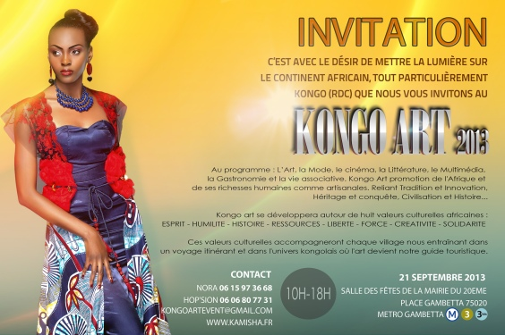 invitation kongoart