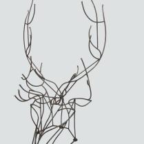 metal deer - sara renaud