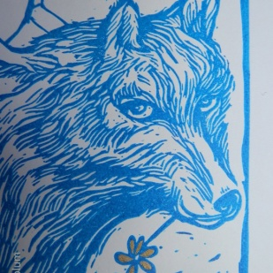 the wolf detail