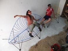metal urban furniture bouchaoreille supervolum 006