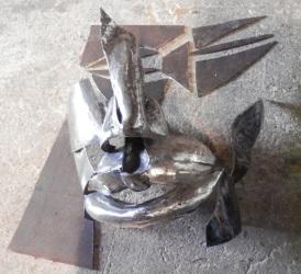 hammered steel face supervolum 2
