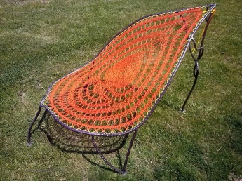 feuille orangee metal tresse supervolum (3)
