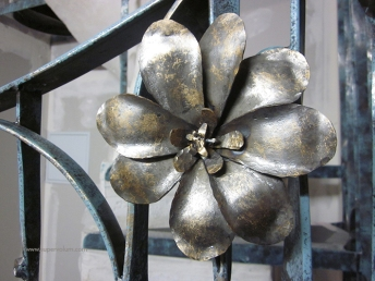 escalier fleur creation metal supervolum (35)