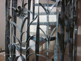 escalier fleur creation metal supervolum (36)
