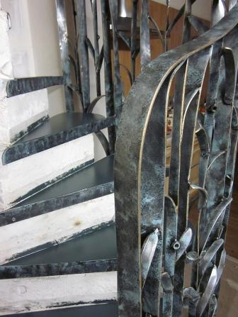 escalier fleur creation metal supervolum (52)