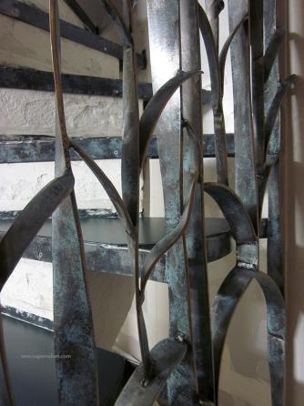 escalier fleur creation metal supervolum (54)