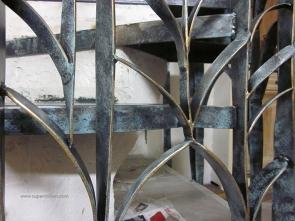 escalier fleur creation metal supervolum (55)