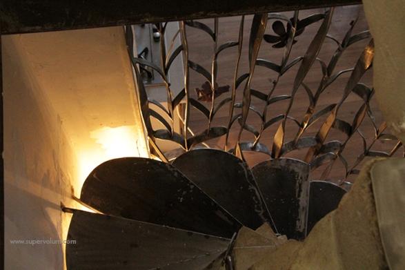 escalier fleur creation metal supervolum (59)