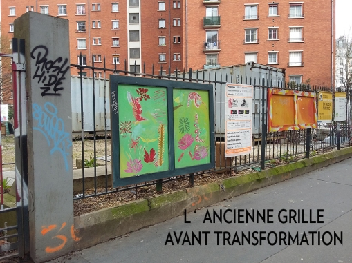 001 Portail Jardin Louis Blanc - Metal Art - Supervolum