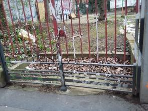 005 Portail Jardin Louis Blanc - Metal Art - Supervolum