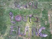 011 Portail Jardin Louis Blanc - Metal Art - Supervolum