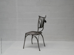 03 Family Chairs - Nature inspired Metal Art - supervolum