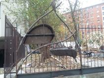032 Portail Jardin Louis Blanc - Metal Art - Supervolum