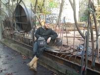 039 Portail Jardin Louis Blanc - Metal Art - Supervolum