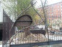 040 Portail Jardin Louis Blanc - Metal Art - Supervolum