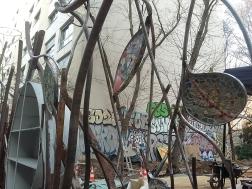 054 Portail Jardin Louis Blanc - Metal Art - Supervolum