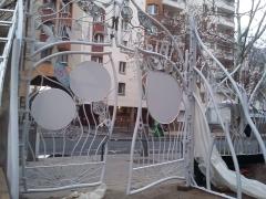 057 Portail Jardin Louis Blanc - Metal Art - Supervolum
