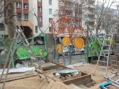 059 Portail Jardin Louis Blanc - Metal Art - Supervolum