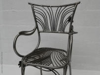 08 Family Chairs - Nature inspired Metal Art - supervolum