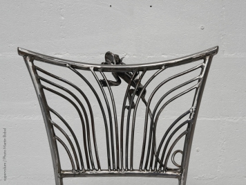 14 Family Chairs - Nature inspired Metal Art - supervolum