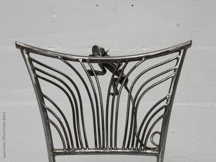 14 Family Chairs - Nature inspired Metal Art - supervolum