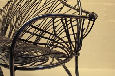 15 the singing bench- Nature inspired Metal Art - supervolum