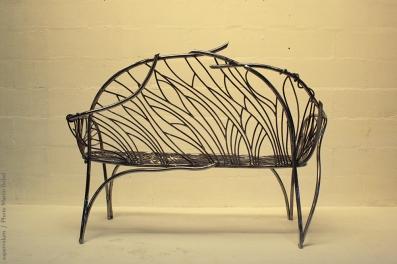 16 the singing bench- Nature inspired Metal Art - supervolum