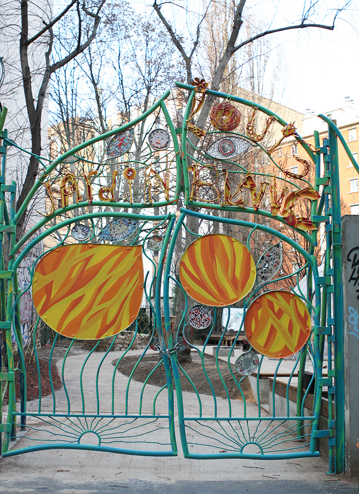 Portail Jardin Louis Blanc - Metal Art - Supervolum 03